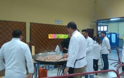 La comida del día por los cocineros de grado medio de  Vera , Alyanub